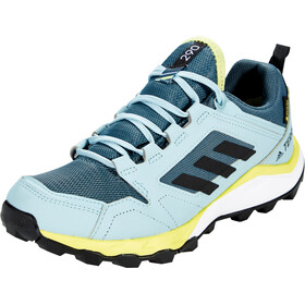 adidas TERREX Agravic TR Gore-Tex Trail Running Schuhe Damen legacy blue/core black/yellow tint